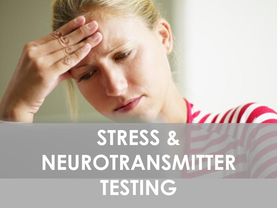 Stress & Neurotransmitter Testing Serotonin ,Dopamine