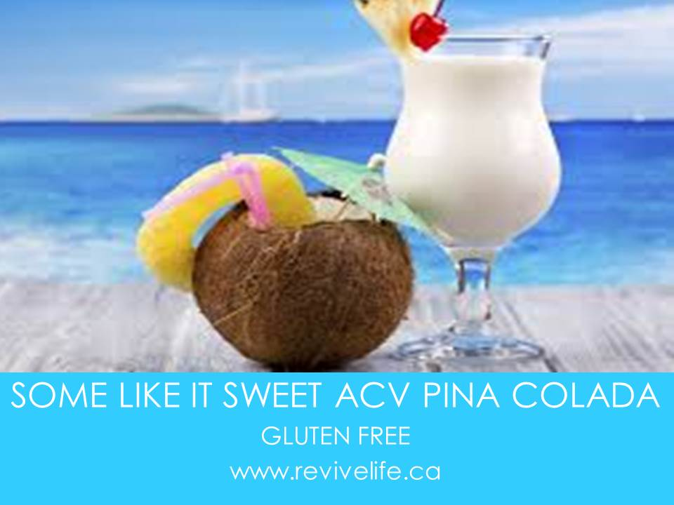 SOME LIKE IT SWEET ACV-PINA COLADA