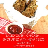 CHICKEN FINGERS W HEMP SEEDS-BORDER