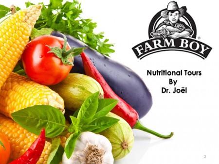 Nutritional Tour
