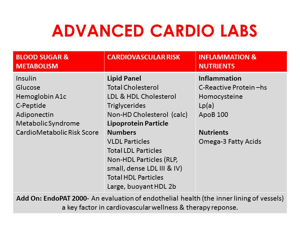 ADVANCED CARDIO LABS