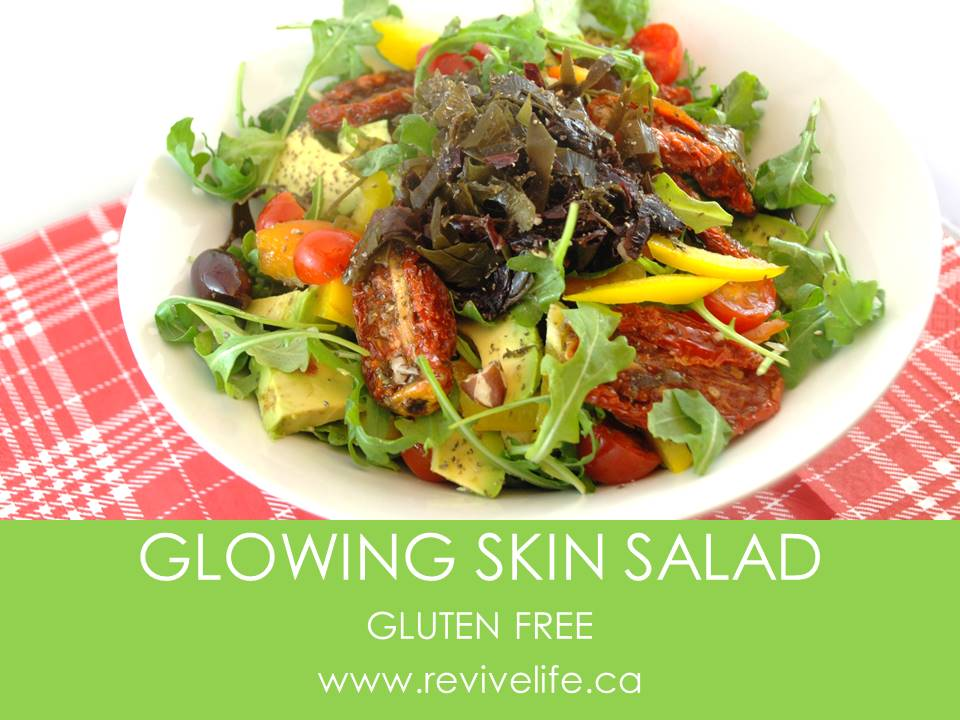 GLOWING SKIN SALAD-BORDER
