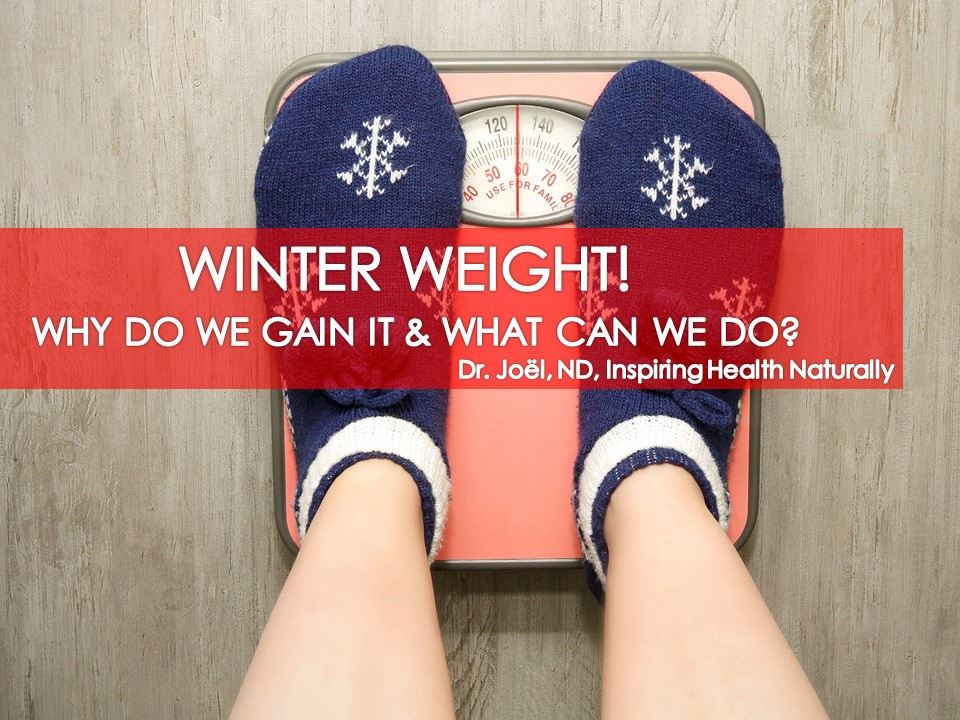 Winter Weight Why Do We Gain It & What Can We Do About It, Dr. Joel, ND Ottawa Naturopath Revivelife High Performance Lifestyle