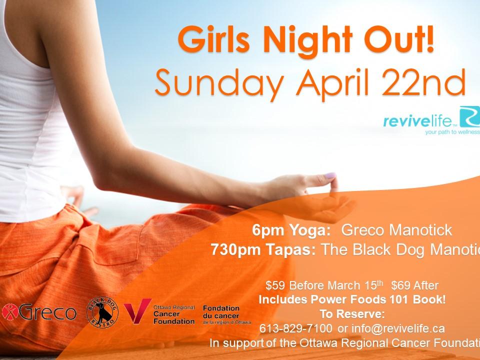 Power Foods 101 Girls Night Out Ottawa