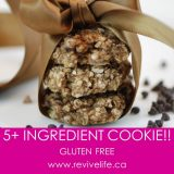 5 Ingredient Oatmeal Banana Cookies, Revivelife, Dr Joel ND, Power Foods 101
