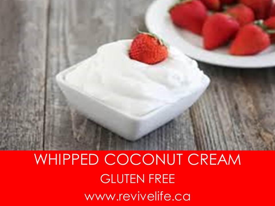 Vegan Whipped Coconut Cream