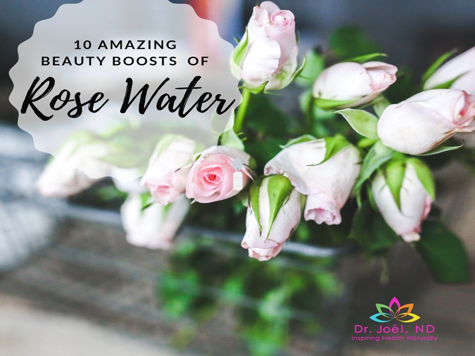 Natural Beauty of Rose Water