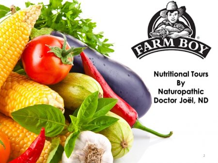 Farm Boy Nutritional Tours by Dr Joel ND