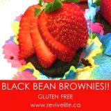 BLACK BEAN BROWNIES REVIVELIFE