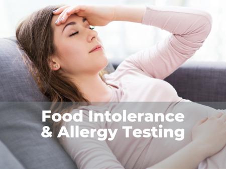 Food Intolerance Testing & Allergy Testing in Ottawa